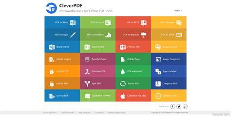cleverpdf     tools