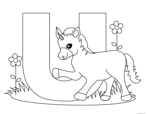 alphabet coloring book coloring book for toddlers aged 3 8 unofficial book volume 1 books printable alphabet letters uppercase letter u is for