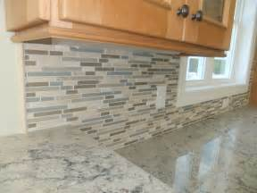 rock tile backsplash construction