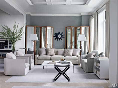 Gray Living Room by Inspiring Gray Living Room Ideas Photos Architectural Digest