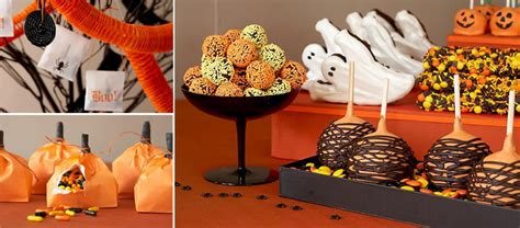 halloween themed desserts fashionable fairytales fall and halloween themed wedding