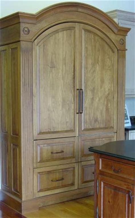 kitchen armoire pantry armoire refrigerator pantry workstations yestertec