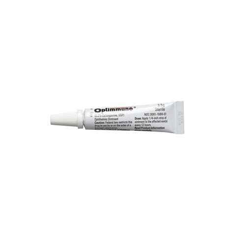 eye ointment for dogs shop optimmune ophthalmic ointment 0 2 for dogs at the lowest price