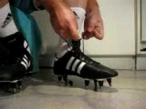 how to tie football shoes putting on killer cleats