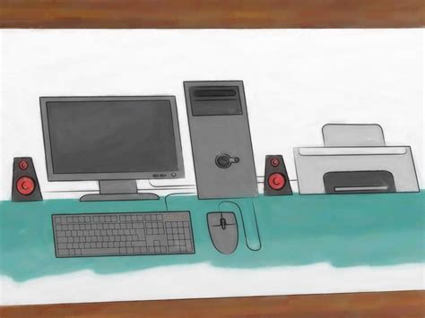 t o how to draw a computer 12 steps with pictures wikihow