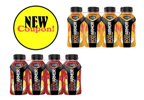 printable coupon save    oz  count bodyarmor