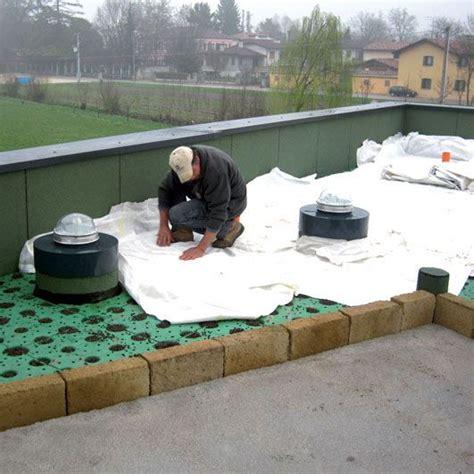 drenaggio giardini pensili tetto verde e terrazza giardino windi drian h 10