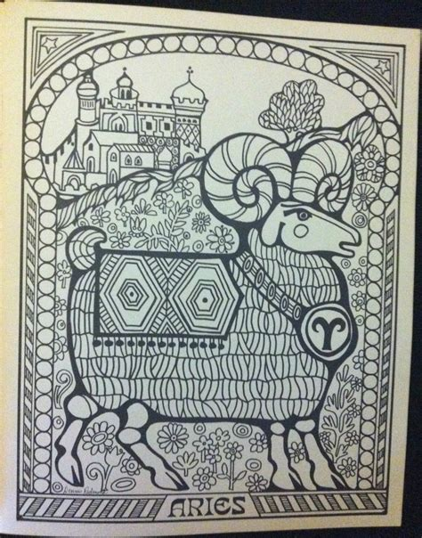 coloring book new album troubador press zodiac coloring book 1969 2 warps to