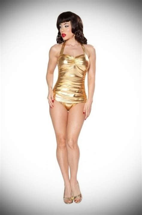 Esther New Gold Exlusive Esther Gold Ester Gold New get the look esther williams gold swimsuit