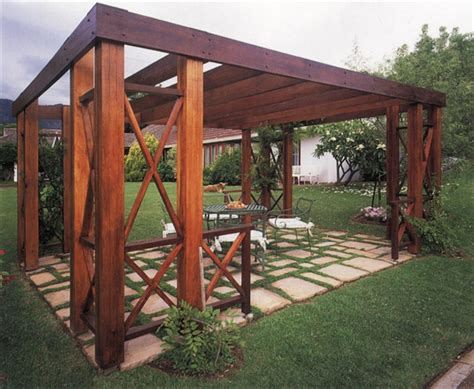 Build A Pergola How To Build A Pergola Roof