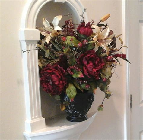 Dining Table Centerpieces Flowers Floral Arrangement Shipping Included Floral Centerpiece Dining Table Wall Niche