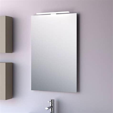 miroir salle de bain lumineux 3147 miroir salle de bain 50x80 cm horizontal ou vertical firenze