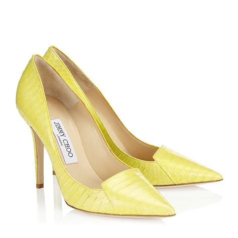 yellow shoes jimmy choo yellow shoes