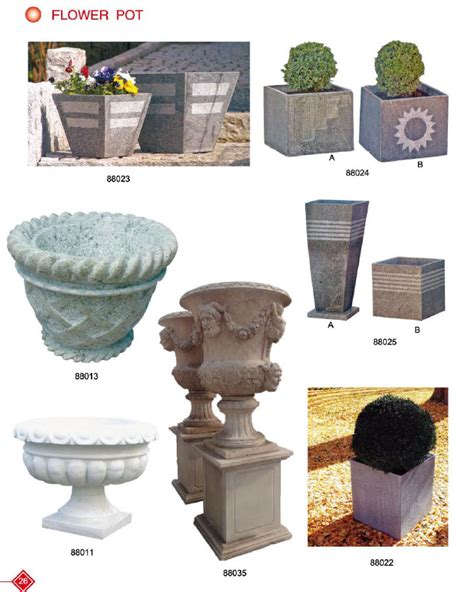 Flower Planters For Sale by Antique Flower Pot With Granite Planters For Sale