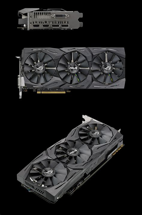 Asus Rog Gtx1080 Strix 8gb Ddr5x 256 Bit asus rog strix geforce gtx 1080 oc 8gb 11gbps rog strix gtx1080 o8g 11gbps pc gear