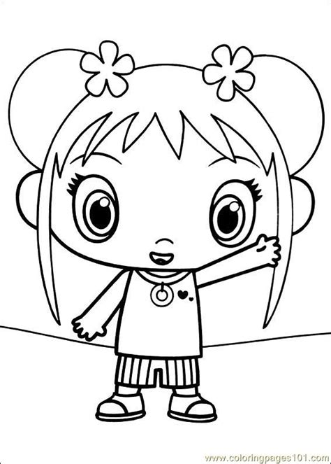 coloring pages ni hao kai lan 14 cartoons gt ni hao kai