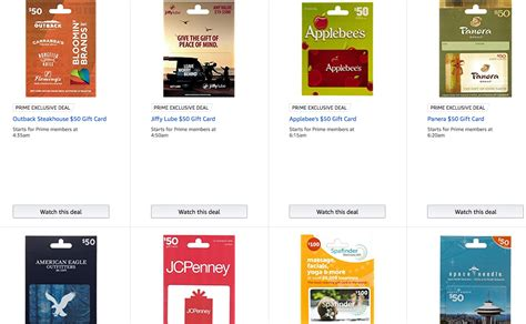 Discounted Amazon Gift Card - 20 discount on many gift cards at amazon deals we like