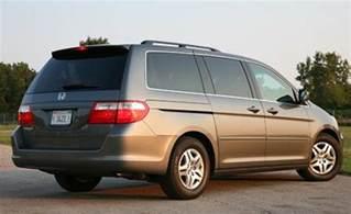 2007 Honda Odyssey Caranddriver