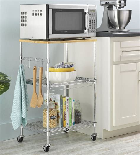 kitchen island microwave cart kitchen microwave cart in kitchen island carts