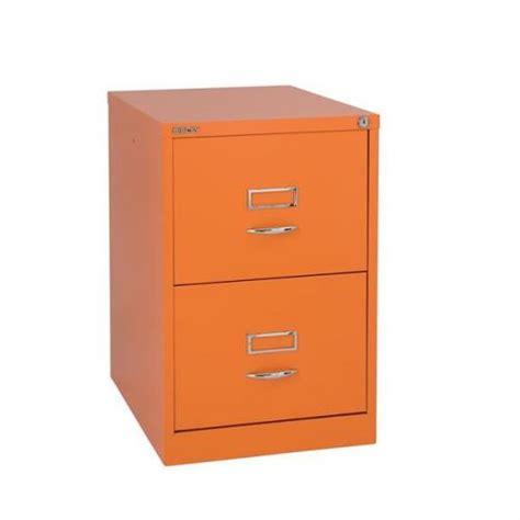 Orange Filing Cabinet Glo By Bisley Bs2c Filing Cabinet 2 Drawer H711mm Orange Bs2c Orange