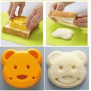 Cetakan Roti Carmobil Bread Mold Sandwich Mold Sa162 jual cetakan roti beruang cetakan sandwich produk unik lucu imut alat dapur masak praktis