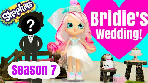 Wedding Stop Motion Animation by Shopkins Season 7 Bridie Gets Married Shoppies Doll