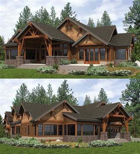 Mountain Craftsman Home Plans by Mountain Craftsman House Plans Www Imgkid The