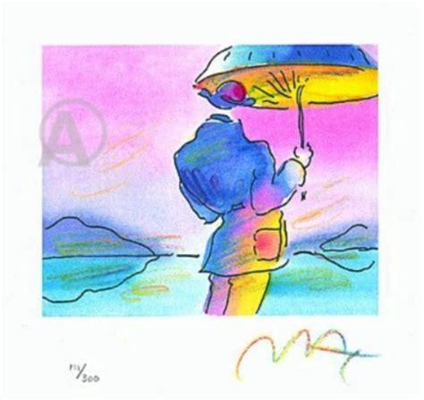 Umbrella Maxy By Galery Chory max signed umbrella lithograph with coa nr