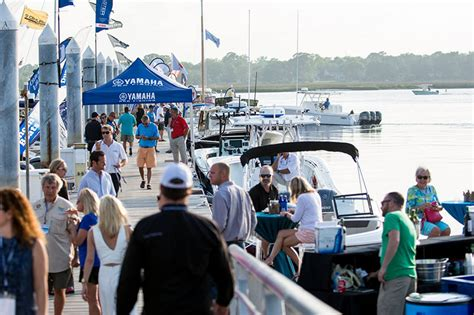 charleston in water boat show 2018 in water boat show bristol marina the beach company