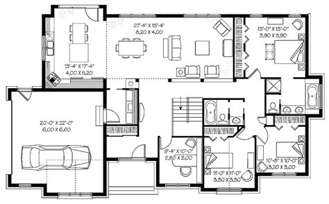 popular house floor plans cottage country farmhouse design practical house plans