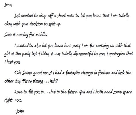 Sincere Apology Letter To Ex Boyfriend write an apology letter email or document