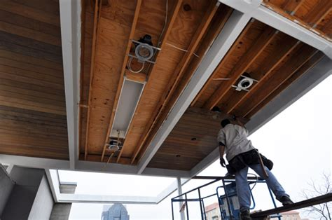 Wood Frame Ceiling by Site Culture And Pride Of An Architect