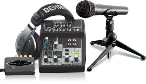 Sound Card Recording Behringer Uca222 Usb podcastudio usb recording packages computer audio