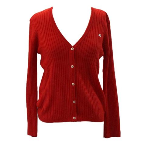 small sweaters vintage courreges cardigan v neck sweater small at 1stdibs