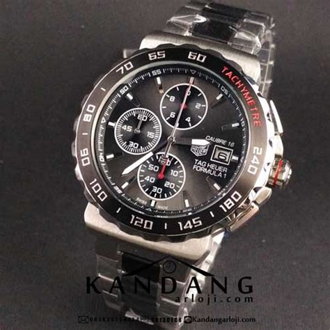 Tagheuer F1 Cal 16 Silver jual tag heuer formula 1 calibre 16 jamtangansby