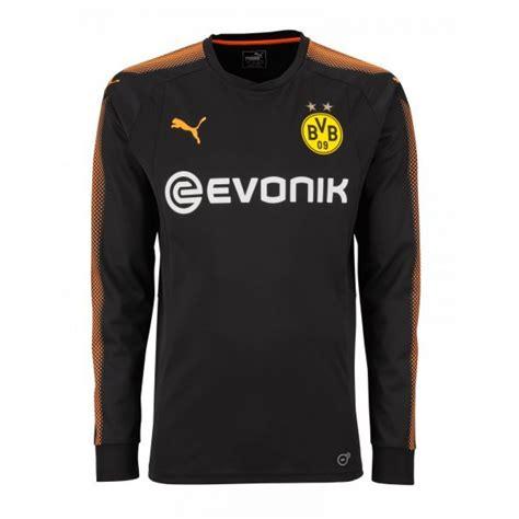 Poloshirt Dortmund Black borussia dortmund 2017 2018 home goalkeeper shirt black