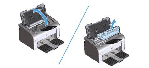 how to reset hp laserjet professional p1102 hp laserjet pro m12 p1100 printers paper jam error hp