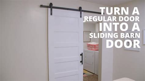 Diy sliding barn door video hgtv