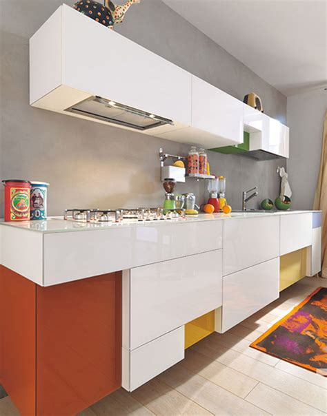creative kitchen designs lago admires the brighter color options for the modern kitchen