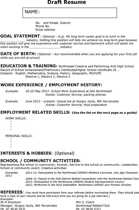 18 best resume sle templates wisestep