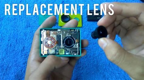 tutorial unbrick xiaomi yi camera tutorial cara mengganti lensa xiaomi yi action camera