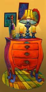 Nightstand With Lamp One Night Stand Terrance Osborne Art