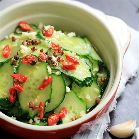 Lezat Sekejap 30 Salad Asia asian pickled cucumbers and carrots