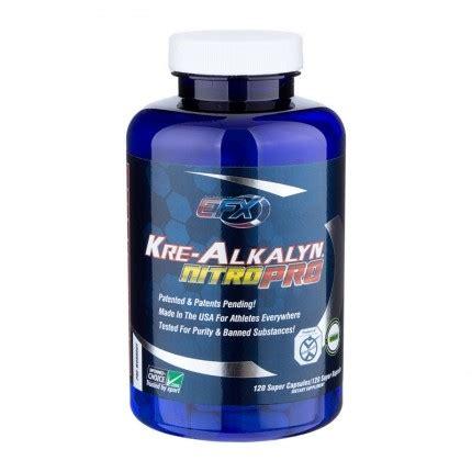 Supplemen Nutrisi Efx Krealkalyn Kre Alkalyn 120 Caps New Packaging efx kre alkalyn nitro pro capsules for enhanced performance