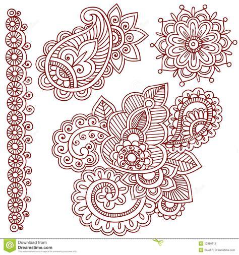 doodle pattern illustrator illustrator paisley border google search i like