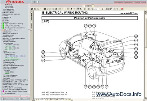 motor auto repair manual 2004 toyota echo transmission control toyota yaris verso echo 1999 2005 service manual repair manual order download