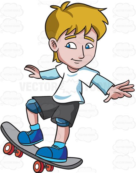 how to your to ride a skateboard clipart a practicing how to ride a skateboard