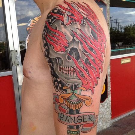 army ranger tattoos army ranger pictures to pin on tattooskid