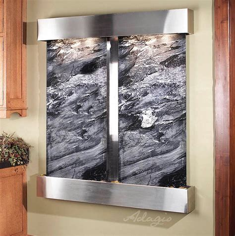 indoor wall fountains contemporary indoor fountains