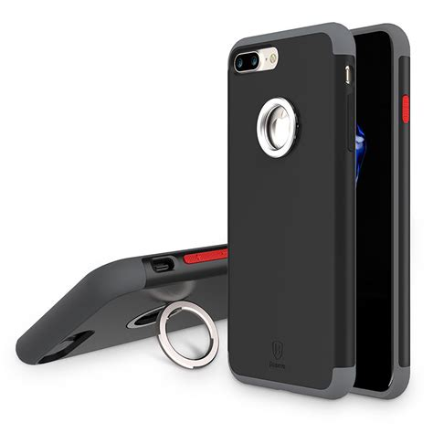 3in1 Plus Ring Iphone X Original 3in1 Plus Ring for iphone 7 7 plus baseus tpu bumper pc magnetic ring holder cover ebay